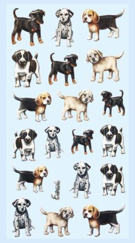 CREApop® Softy-Sticker Hunde
