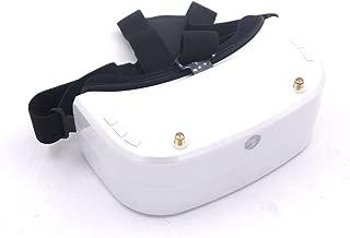 LEACO SJ RG01 5.8G 48CH Dual-Displays Diversity FPV Video Goggles Glasses w/ 3.7V 1500mAh Battery DVR