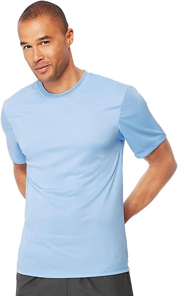 Hanes Sport Men's Heathered T-Shirt Performance Max New arrival 51% OFF