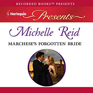 Marchese's Forgotten Bride audiobook cover art