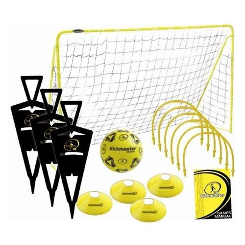Kickmaster Ultimate Fußball Challenge Set.