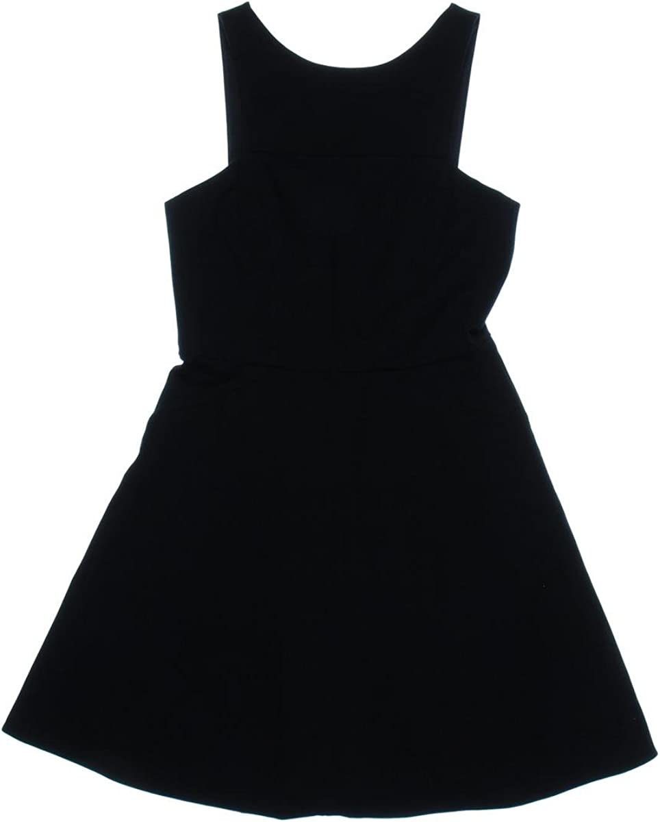 4.collective Women's Ponte Sleeveless Flirty Dress