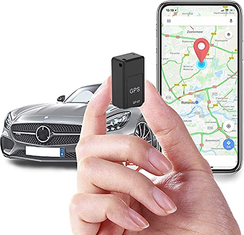 HDLiang Mini Magnetic Real time Car Locator, Long Standby Portable Real-Time Positioning Tracking Device GPS Tracker for Vehicles, Kids, Elder, Pets, Trucks