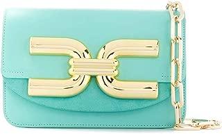 Luxury Fashion | Elisabetta Franchi Womens BS47A02E2Y04 Light Blue Shoulder Bag | Spring Summer 20