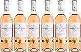 Les Deux Pins Merlot Rosé Pays d'Oc Igp Vin Rosé 0,75 L - Lot de 6