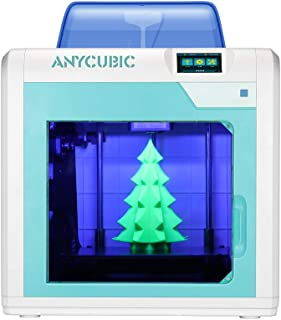 ANYCUBIC FDM 3D Printer 4Max Pro Sensitive Touch Screen Modular Design with Ultrabase Platform, Print Size 10.63 x 8.07 x 8.07 Inches, Compatible with Flexible Filaments