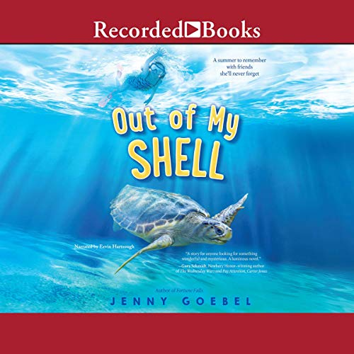 Out of My Shell audiobook cover art
