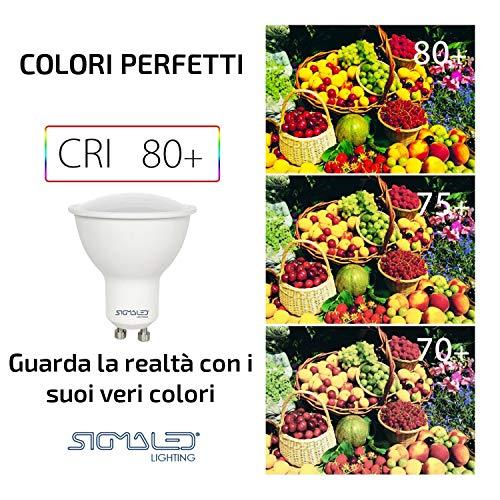 Sigmaled lighting P6-GU10-071040-120-S