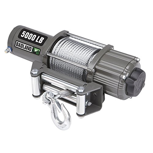 5000 lb. ATV/Utility Electric Winch with Automatic Load-Holding Brake from TNM