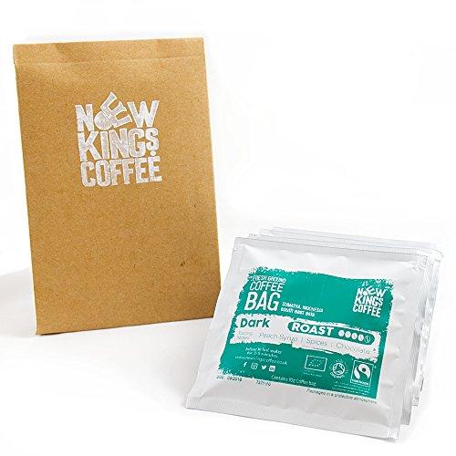 Fresh Ground Coffee Bags | Fairtrade | Single Origin | 100% Arabica | 100 Coffee Bags | Office | B&B | Hotel | Hospital | Catering