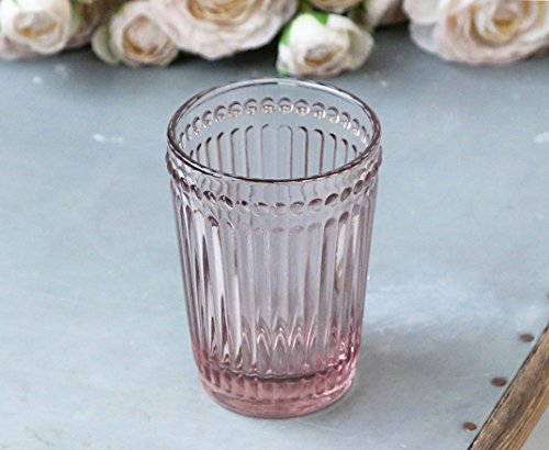 Chic Antique Vaso para cepillos de dientes (cristal), diseño rústico