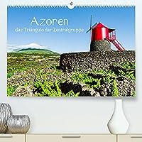 Azoren - das Triangulo der Zentralgruppe (Premium, hochwertiger DIN A2 Wandkalender 2022, Kunstdruck in Hochglanz): Gehen Sie auf eine Bilderreise durch faszinierende Inseln der Azoren (Monatskalender, 14 Seiten )