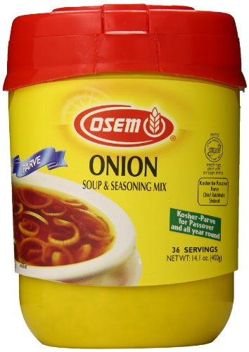 Osem Soup & Seasoning Mix, Onion Soup (Kosher for Passover), 14.1 Ounce