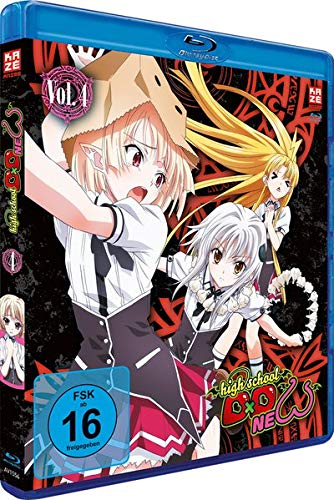 Highschool DxD: New - Staffel 2 - Vol.4 - [Blu-ray]