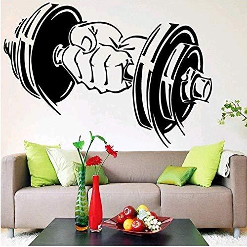 JXFM Hangstoel met handslinger generatie gesneden persoonlijkheid wandsticker woonkamer Palestra achtergrond Muro 58 x 40 cm
