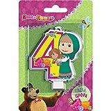 Y # x421; andle en decoración para tarta para un 4años Masha y el oso debe tener accesorios para el...