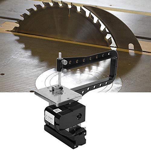 Lowest Prices! Machine Tool, 24W Z20001MG Mini Metal Bow-arm Jigsaw Machine 20000rpm DC12V 2A