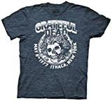 Ripple Junction Grateful Dead Ithaca NY Adult T-Shirt (XXX-Large, Navy Heather)