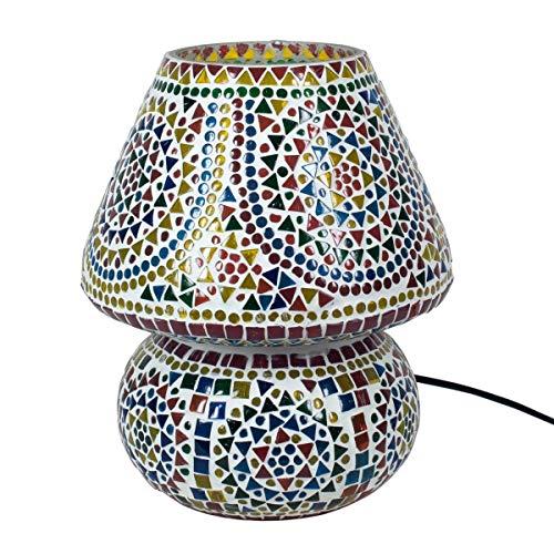 BY SIGRIS Signes Grimalt Lámpara Árabe de Mesa | Lampara Marroqui, Multicolor