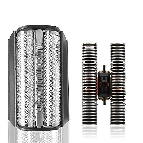 Flex integral de aluminio/aluminio RAZOR + eje cepillo de tipo recambio Cutter 31B apropiado para Braun 5000 / 6000fc - XP 31bruan