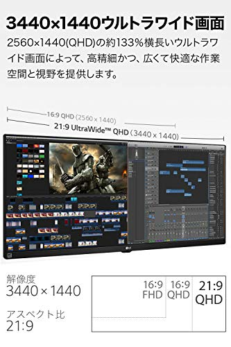 LG(エルジー)『IPSモニター(34WL750-B)』