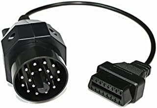 CarAngels BMW用 20PINから16PINのOBD2へ変換アダプター メスコネクター 故障診断用 BMW e36 e39 X5 Z3 20ピン専用