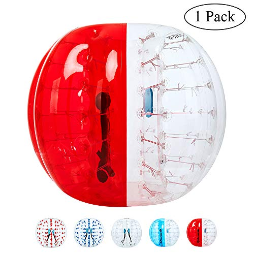 Inflatable Bumper Bubble Soccer Ball for Adults, Dia 5 FT Giant Human Hamster Ball