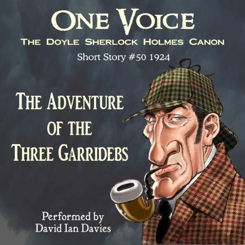 The Adventure of the Three Garridebs audiobook cover art
