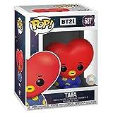 YYBB Figura Pop!Animación: BT21 - Decoración Tata Coche del Vinilo de la Figura Colección Decorativo Juguetes Obra Maestra de la Figura 3.9 Pulgadas Figurines