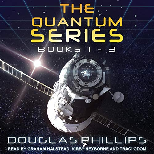The Quantum Series, Books 1 - 3 audiobook cover art