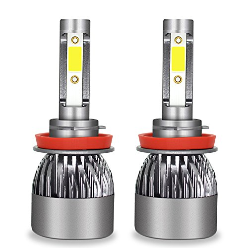 Ampoule De Phare LED Tout-En-Un Kit De Conversion-H1, H4, H7, H11, 9005, 9012-3200LM 6000K Cool White 360 Degré D'éclairage Pour Remplacement De Lampe De Voiture,H11