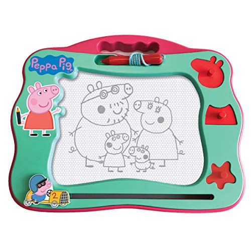 Peppa Pig 7218 Viaje Magnético Scribbler