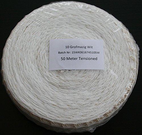 50m Kaliber 10 Bratennetz/Rollbratennetz/Räuchernetz für Einfüllrohr mit einem Durchmesser von ca. 60 mm