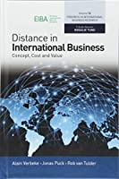 Distance in International Business: Concept, Cost and Value (Progress in International Business Research)