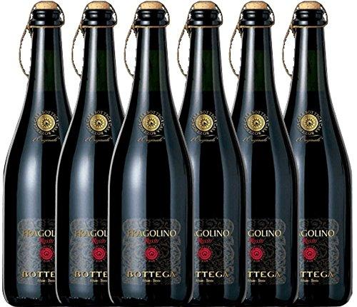 6er Paket - Fragolino Rosso Frizzante - Bottega
