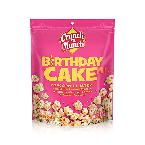 Crunch 'n Munch Sweet Creations Popcorn Clusters (5.5oz bag)  $2.55 at Amazon