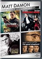 Matt Damon 4-Movie Spotlight Series [DVD] [Import]