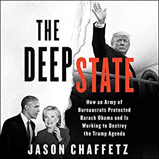 The Deep State audiobook cover art