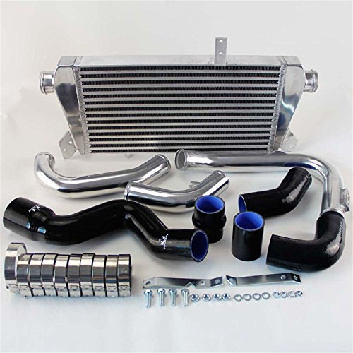 Upgrade Front Mount Intercooler Kit fits for Audi A4 1.8T Turbo B6 Quattro 02-06 Bk