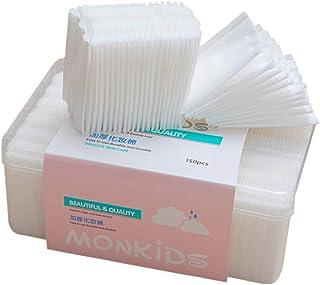 ビューティーアップコットン 天然綿 化粧コットン 顔クレンジングシート メイク落としシート 150枚(厚い)