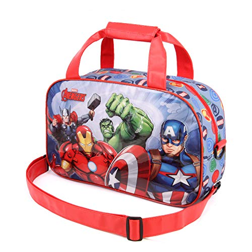 Karactermania The Avengers Force-Sports Bag Kinder-sporttas, 38 cm, meerkleurig (Multicolour)