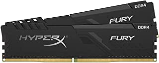HyperX Fury HX426C16FB3K2/16 DIMM DDR4 CL16 (Kit 2 x 8 GB) 16 GB 2666 MHz CL16 DIMM 1R x 8 Negro