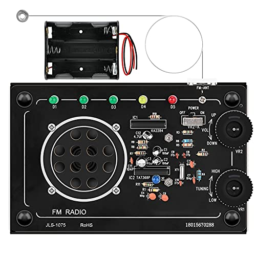 Seamuing Kit Radio FM Fai-da-te Costruisci un Progetto Elettronico di Saldatura Utilizzato per Principianti Bambini Studenti Adulti per Imparare