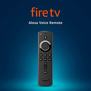 Alexa Voice Remote (2nd Gen) with power and volume controls – requires compatible Fire TV device