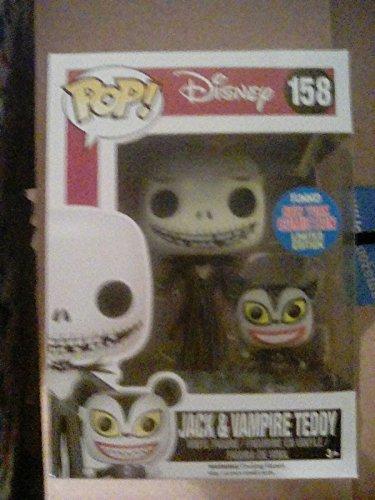 Funko POP: Disney: Pesadilla antes de Navidad: Jack con vampiro osito Exclusivo