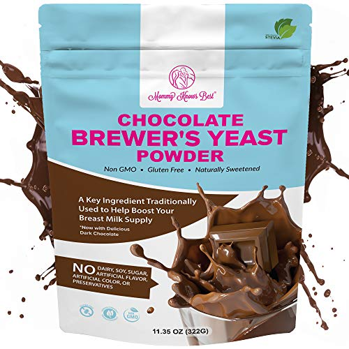 Brewers Yeast Powder for Lactation Cookies for Breastfeeding - Lactation Supplement for Increased Breast Milk - Nutritional Yeast for Lactation Support - Breastmilk Supplement for Women - Easy to Bake