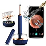 Bebird Note3 Pro, 2-in-1 Ear Cleaning Tweezer & Rod Set, 10 Million Pixels HD Camera, WiFi Smart Ear Cleaner with 6-Axis Gyroscope Intelligent Otoscope Suitable for iPhone, IPad & Android (Blue)
