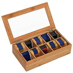 leere teeboxen mehr als 30 teeboxen aus holz zum bef llen viele tipps schwarze teebeutelbox. Black Bedroom Furniture Sets. Home Design Ideas