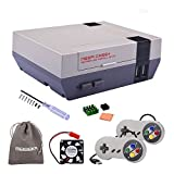 Retroflag NESPi Case+ Plus with USB Wired Game Controllers & Cooling Fan & Heatsinks for RetroPie Raspberry Pi 3/2 Model...