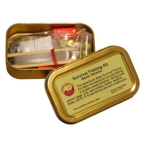 Best Glide ASE Survival Fishing Kit - Basic Version